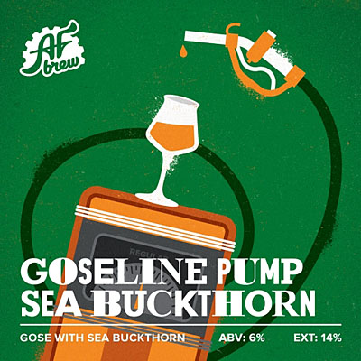 AF Brew - Goseline Pump: Sea Buckthorn / Бут. стекл. / 500 мл